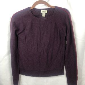 100% Cashmere sweater  Neiman Marcus Purple